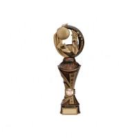 Renegade Golf Heavyweight Award Antique Bronze & Gold 300mm