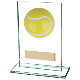 Horizon Tennis Jade Glass Award 125mm