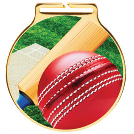 Vision Cricket Medal 60mm