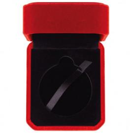 Aspire Velour Medal Box Red